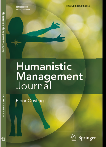 Humanistic Management Journal Issues Free through Nov 25th