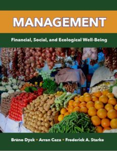 Management: Financial, Social, and Ecological Well-Being (new textbook)
